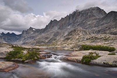 Fremont Peak and Titcomb Lakes Drainage