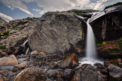 Indian Basin Waterfall