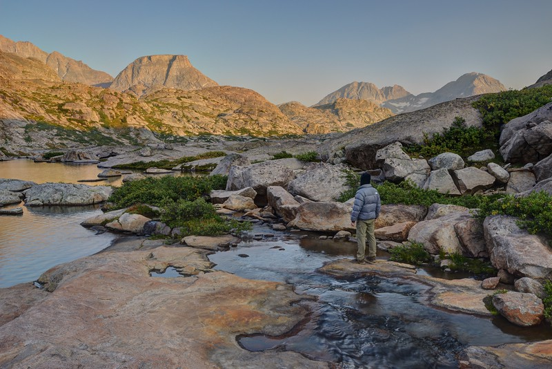 Elephant Head From the Titcomb Basin