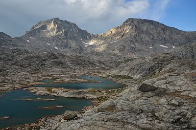 Fremont (L) and Jackson(R) Peaks