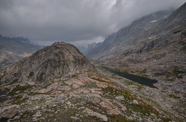 Stormy Titcomb Basin Morning