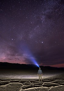 Badwater at Night
