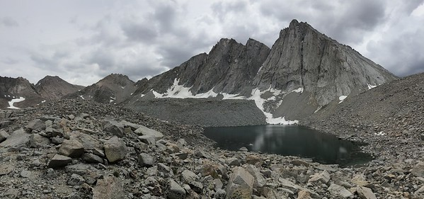 Mount Tyndall and Lake 12,182'