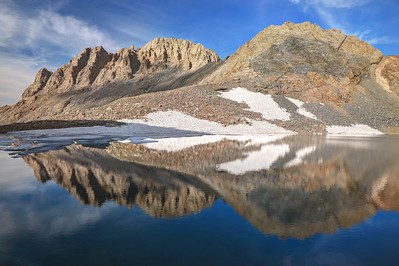 Mount Williamson Reflected in Lake Helen of Troy