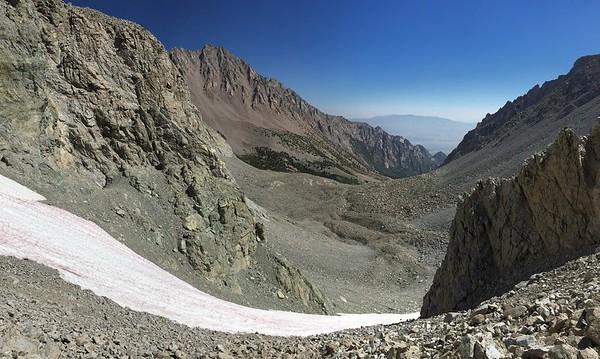 Shepherd Creek From Near the Top of Shepherd Pass