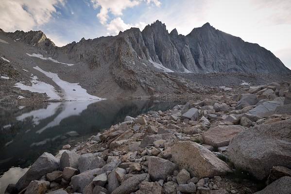 Lake 12,247' and Mount Tyndall
