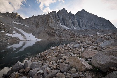 Lake 12,247' and Mount Tyndall