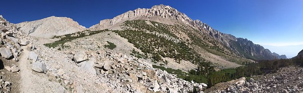 Junction Peak and Mount Keith Along the Shepherd Creek Trail