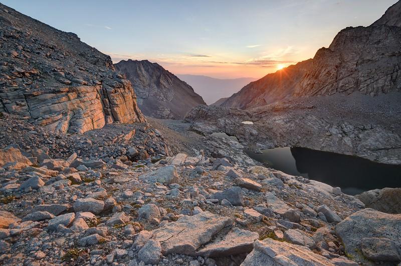 Sunrise at Williamson Canyon