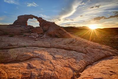 Arsenic Arch Sunset