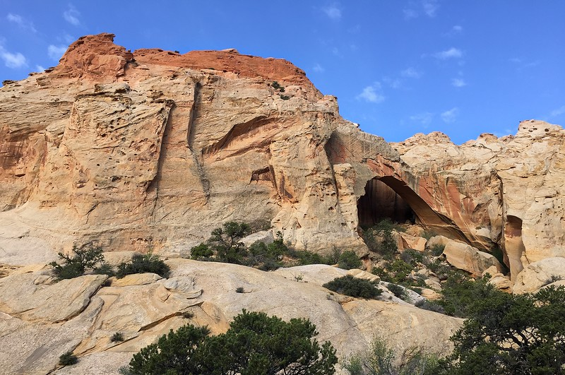 Giant Arch Along the Upper Muley Twist