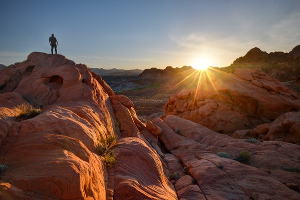 Sunset Over Redrock