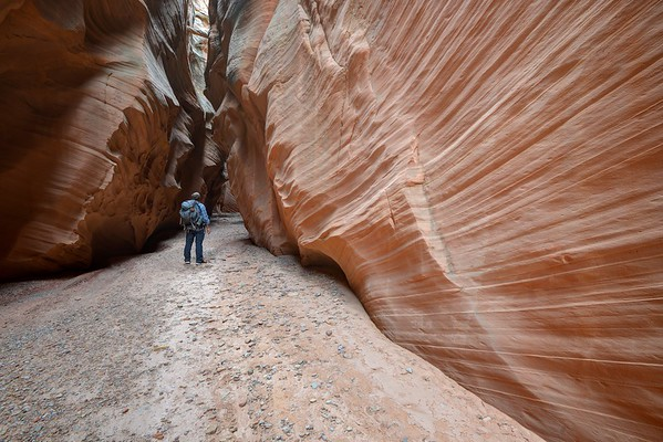 Happy Slot Canyon