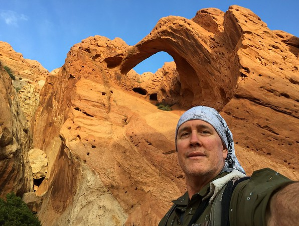 Selfie With Saddle Arch