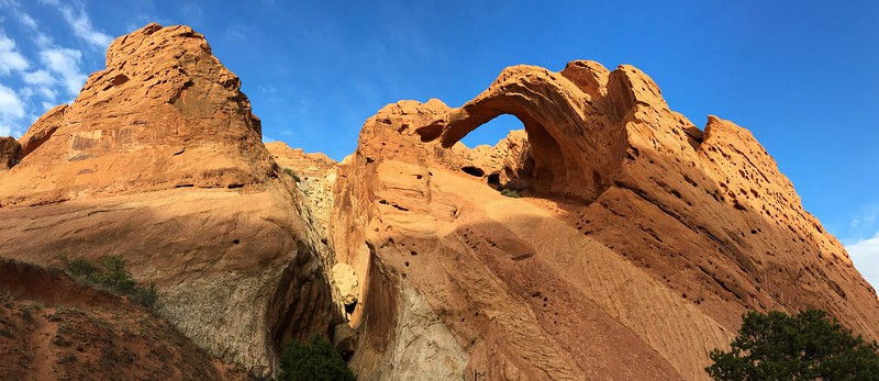 Saddle Arch Panorama