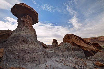 Hoodoo in Poison Spring Canyon