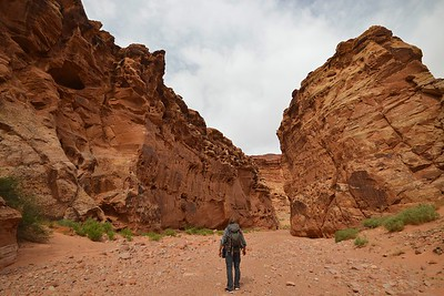 Mouth of Happy Slot Canyon