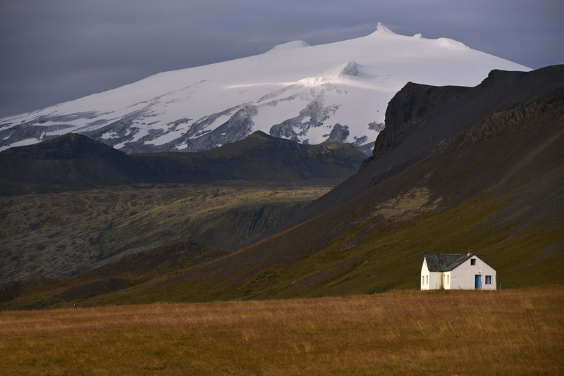 Snaefellsjokull Volcano