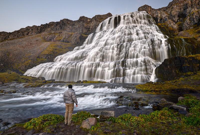 Magnificent Dynjandi Waterfall