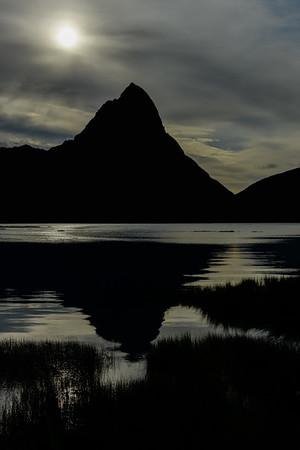 Mitre Peak Silhouette