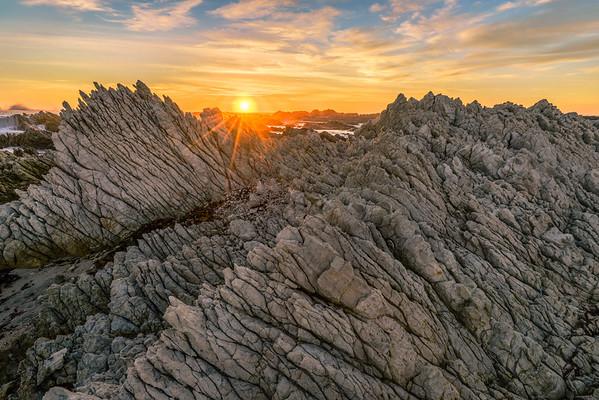 Sunrise at the Kaikoura Peninsula
