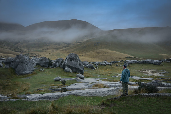 Boulders and Mist