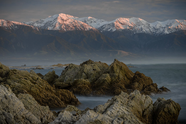Kaikoura Peninsula and the Kaikoura Range