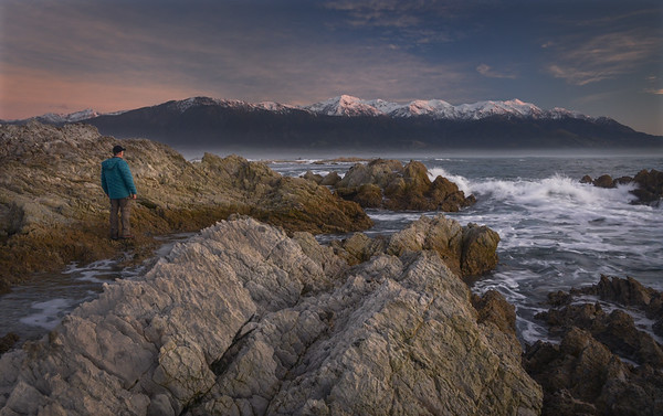 Self Portrait in the Kaikoura Peninsula