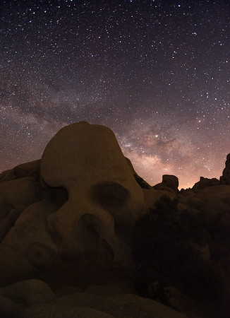 Skull Rock and the Galactic Core