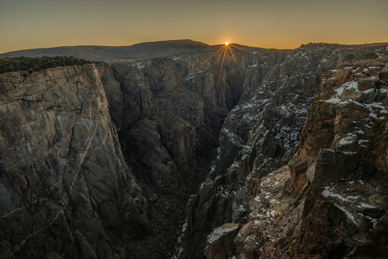 Sunrise at the Chasm