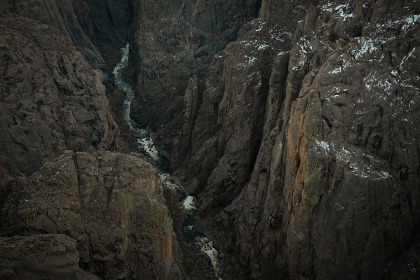 Gunnison River at the Chasm