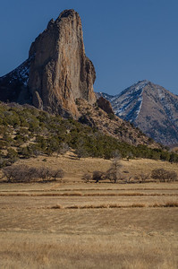 Needle Rock and North Saddle Peak