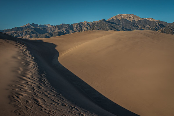 Big Dunes and the Sangre De Cristo Mountains
