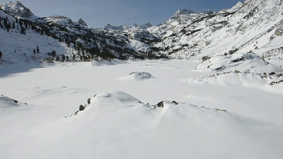 Sabrina Lake in Winter