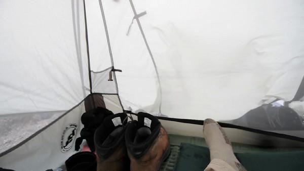 Rain and Wind in the Nine Lake Basin