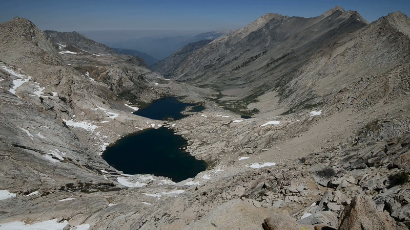 Above Columbine Lake