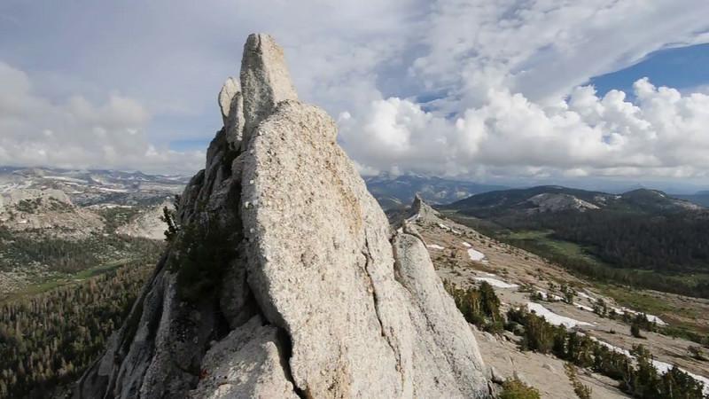 Summit of Tresidder Peak
