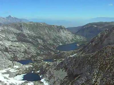 Peak 12,550' Above Hurd Peak