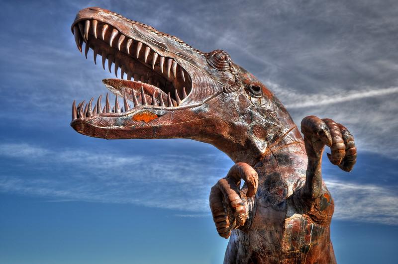 Galleta Meadows Steel Sculptures Borrego Springs, California.  Copyright © 2011 All rights reserved.