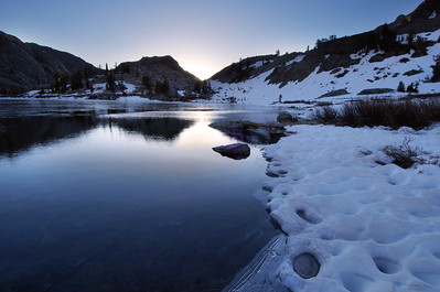 Sunrise Lake Ediza