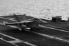 An F-18 trapping onboard the USS GEORGE WASHINGTON, CVN-73.