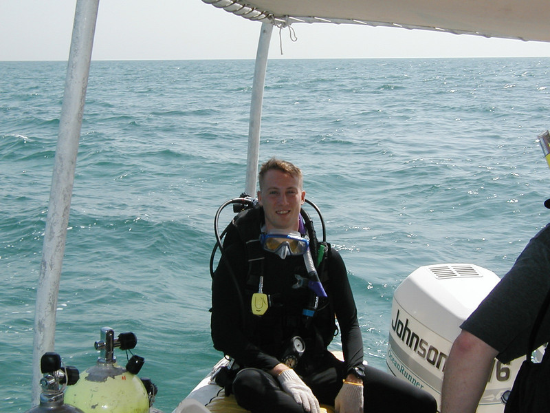 Scuba Diving in Bahrain, 2002