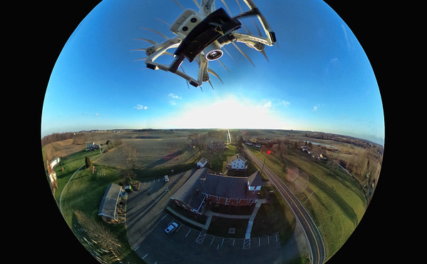 Spherical Photography with Ricoh Theta S camera and Don Drone