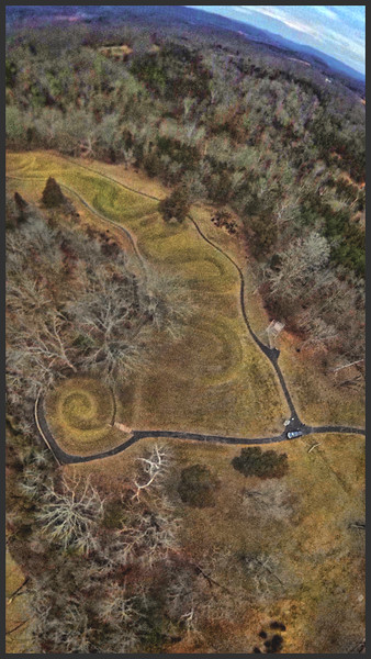 The Great Serpent Mound (Peebles, Ohio)
