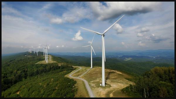 Wind on Laurel Mountain