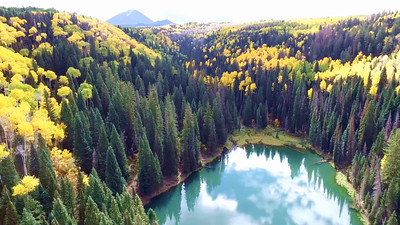 Oowah Lake by drone  5