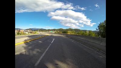 5A-Driving across Bonner's Ferry bridge