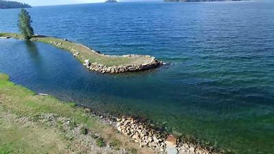 5-Eastern shore of Lake Pend Arielle