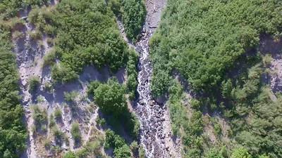 1-Lower portion-Bridal Veil Falls
