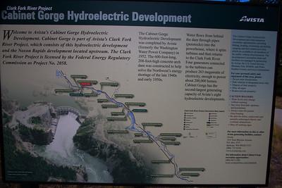 Cabinet Gorge and Noxon Rapids Dams